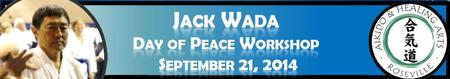 Jack Wada, 7th Dan, International Day of Peace Aikido...