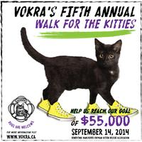 VOKRA's 5th Annual Walk for the Kitties