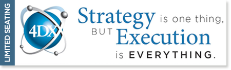 The 4 Disciplines of Execution overview