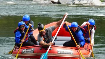 Saint Andrew's Youth River Rafting Trip