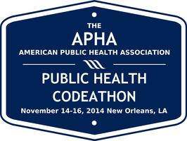 The APHA Public Health Codeathon: November 14-16, 2014
