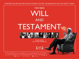"CHESTERFIELD - ""Tony Benn: Will and Testament""..."