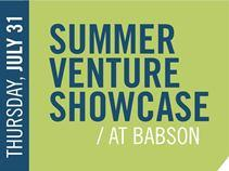 2014 Babson Summer Venture Showcase