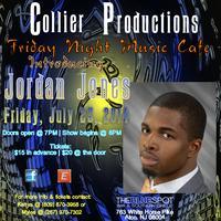 Collier Productions presents Jordan Jones
