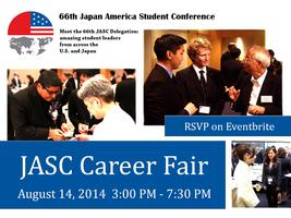 Japan America Student Conference (JASC) Career Fair
