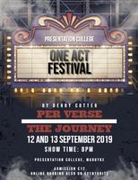 One Act Festival Dan Donovan Theatre
