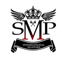 SMP ALLSTARS, ISLAND JAMS, MUSIC HEADZ, GENESIS FIRM, OVA DI WALL, EX MEDIA, logo