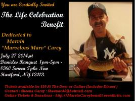 "Life Celebration Benefit for Marvin ""Marvelous Marvin""..."