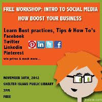 Free Workshop: Social Media Tips to Boost your...