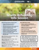 MAP Grant & HSBIR Match Funding Info Session