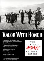 Valor with Honor Screening at Oakland Asian Cultural Ce...