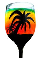 "Wine Glass Paint Party - ""One Love"" (SOLD OUT)"