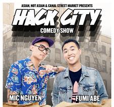 Hack City Comedy logo