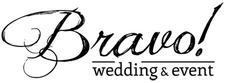 Bravo! wedding & event logo