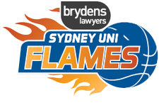 Brydens Sydney Uni Flames logo