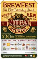 Morgan Street Brewery Beer Fest and Birthday Bash