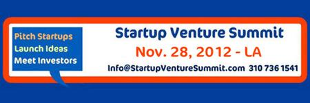 Sponsorships and Venture Pitch Startup Venture Summit