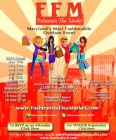 August 23 Fashionista Flea Market (VENDOR OPPORTUNITY)