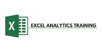 Excel Analytics 3 Days Training in Manchester