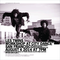 Les Twins San Francisco Workshop