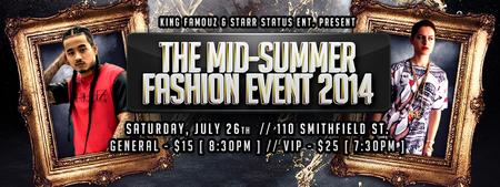 Famouz Clothing Co. | Mid-Summer Fashion Event [ '14 ]