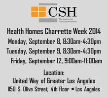 Health Homes Charrette Week (Fri)