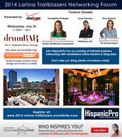 Latina Trailblazers Networking Forum
