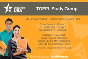 TOEFL Study Group Septiembre Tickets, Wed, Sep 11, 2019 at 6