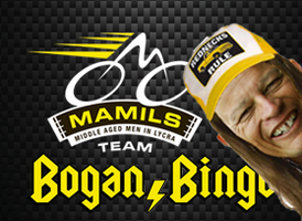 MAMILS - Bogan Bingo for Perth Ride To Conquer Cancer...