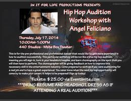 Hip Hop Audition Workshop with Angel Feliciano