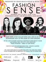 FASHION SENSE at Sense Beach House - Miami Swim Week...