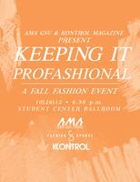 Keeping it PROFASHIONAL Event with Kontrol Magazine