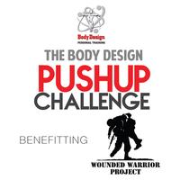 Body Design's Pushup Challenge benefiting the Wounded...