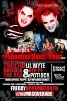 Twiztid's Abominationz Tour 2012