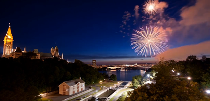 Premier Fireworks Viewing! hosted by the BYTOWN MUSEUM...