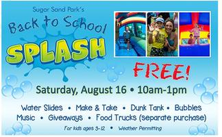 BACK TO SCHOOL SPLASH WITH SUZY Q EVENTS