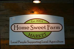 Home Sweet Farm Market Day