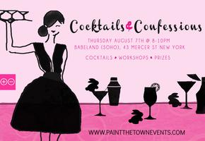 Cocktails & Confessions @ Babeland (Soho)
