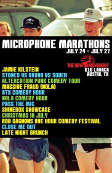 Microphone Marathons - ATX logo
