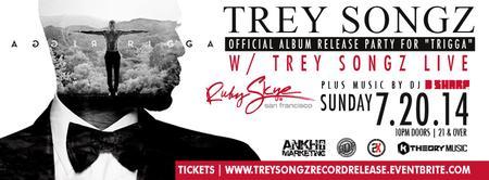 "Trey Songz Official Album Release Party for ""Trigga"""