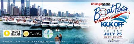 Chicago Scene Boat Party KICKOFF