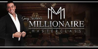 Millionaire MasterClass | 21st August PM | London