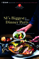 The Biggest SF Dinner Party 2014