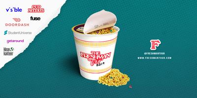The Freshman Tour Pop Up & Concert: Doordash, Cup Noodles