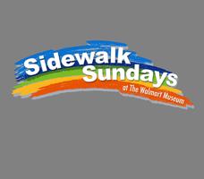 Sidewalk Sundays at The Walmart Museum