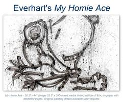 """Original """"Peanuts"""" Paintings by Tom Everhart"""