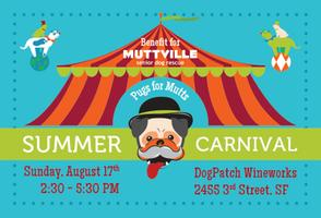 Pug Summer Carnival - Pugs Helping Pugs & Mutts!