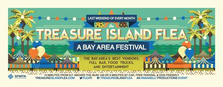 Treasure Island Flea: Entry & Beer or Wine @50% off!...