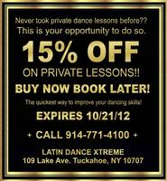 PRIVATE DANCE LESSONS PROMOTION