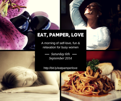 Eat, Pamper, Love